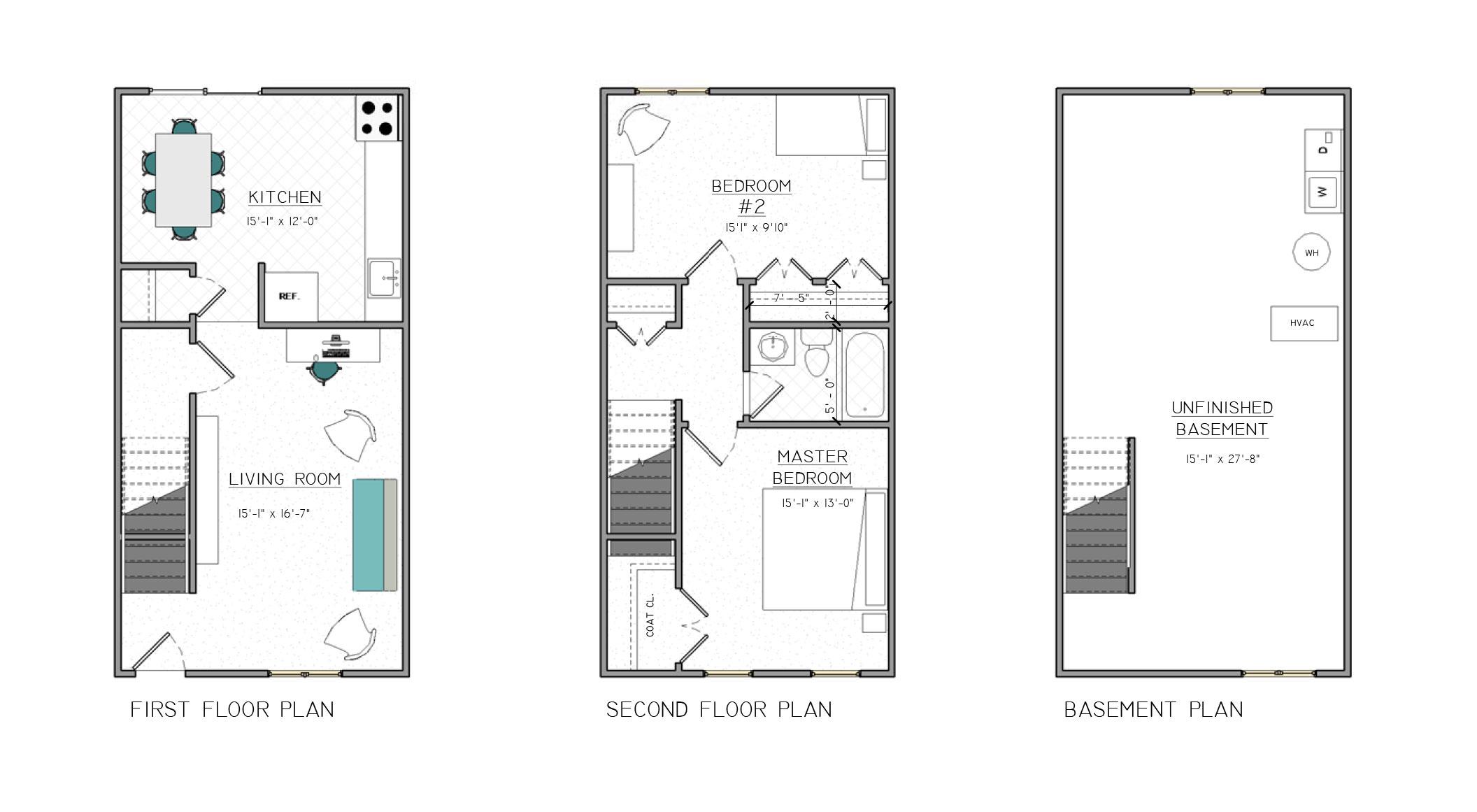 Floor Plans – Berkshire Hills Apartments